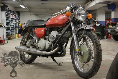 Suzuki T250 first picture