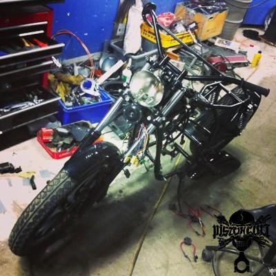 Elias Yamaha dirtbike build